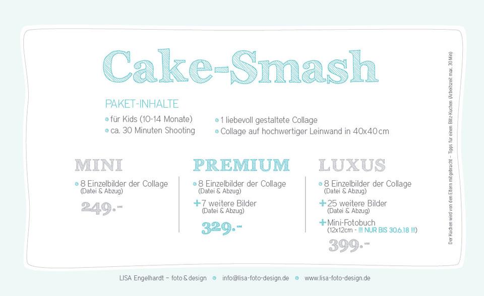 Cake-Smash-Angebot 2017